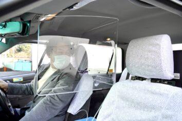 タクシー シールド パネル